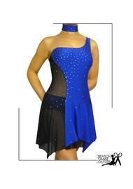 robe de salsa bleue