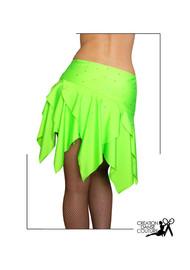 jupe latine verte