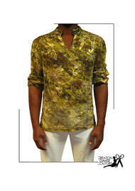 chemise afro pour homme